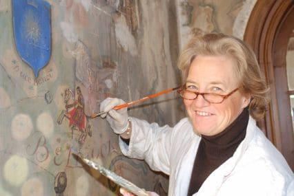 patricia de villaines artiste peintre portraitiste paris